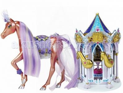 Набор Пони Рояль: карусель и королевская лошадь Лаванда Pony Royal