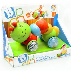 Развивающая игрушка  Инерционная каталка Гусеница B kids