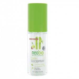 Дезодорант спрей 24 часа с био-оливой и бамбуком 100 мл Neobio