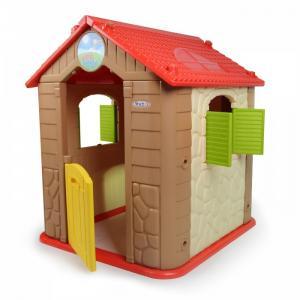 Детский игровой комплекс для дома и улицы HN-706 домик бизиборд Haenim Toy