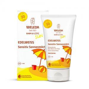 Крем  солнцезащитный для младенцев и детей SPF 30, 150 мл Weleda