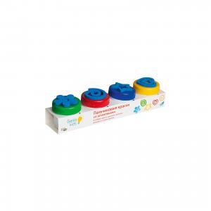 Набор для детского творчества Пальчиковые краски со штампиками Genio Kids