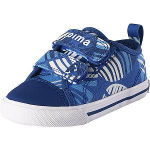Ботинки Metka  для мальчика Reima. Цвет: синий