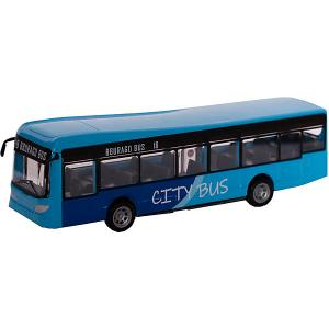 Автобус  Long city bus, 1:43 Bburago