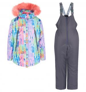 Комплект куртка/брюки  Влада, цвет: фиолетовый Аврора