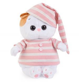 Мягкая игрушка  Ли Baby в полосатой пижамке 20 см Budi Basa