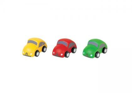 Набор деревянных машинок Город Plan Toys