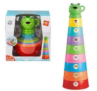 Набор игрушек для купания Пирамидка Лягушка Play Smart