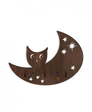 Вешалка Совенок на луне Стенаграмма