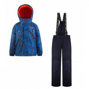 Комплект для мальчика (куртка, полукомбинезон) GWB 5604 Gusti