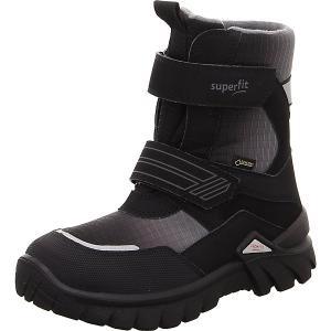 Утепленные сапоги Superfit. Цвет: черный