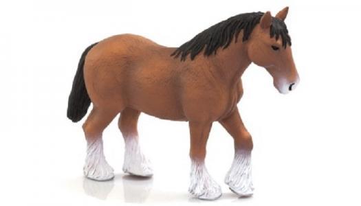 Animal Planet Лошадь коричневая клейдесдальской породы XL Mojo