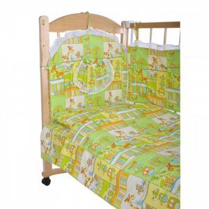 Комплект в кроватку  52 (6 предметов) GulSara