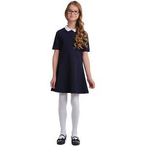 Платье Scool S'cool. Цвет: темно-синий
