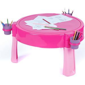 Стол Dolu песок-вода. Цвет: розовый