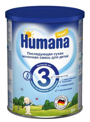 Молочная смесь  Expert 3 с 12 месяцев, 350 г Humana