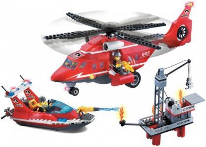 Конструктор  Fire Rescue 905 (404 элемента) Enlighten Brick