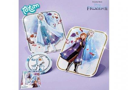Набор для творчества Открытки с кристаллами Холодное сердце 2 Totum