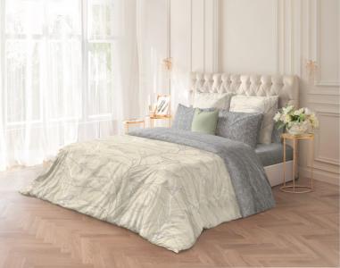 Постельное белье  1.5 спальное Frost (4 предмета) Волшебная Ночь