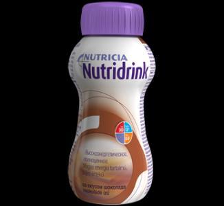 Молочная смесь  для энтерального питания Шоколад с 3 лет, 200 г Nutridrink