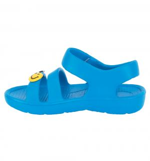 Сандалии пляжные , цвет: голубой Twins