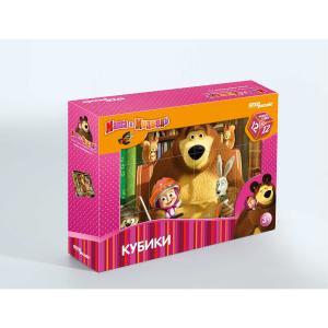 Кубики  Маша и Медведь Step Puzzle