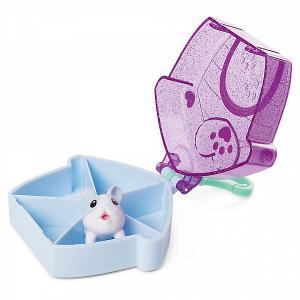 Фигурка Chubby Puppie, в домике на брелке, фиолетовая Puppies