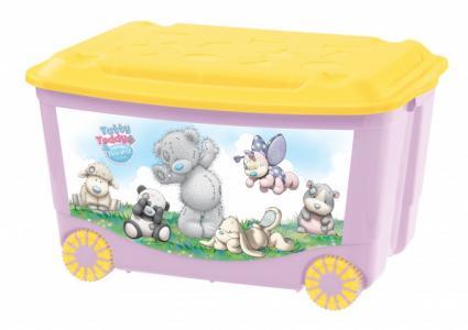 Ящик для игрушек на колесах с аппликацией 580Х390Х335 мм Me to You