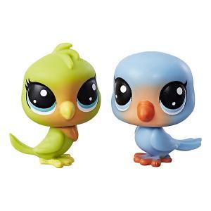 Набор из двух фигурок Littlest Pet Shop Лолли Лавинстон и Лео Лавфевер Hasbro