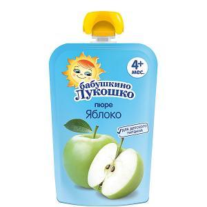 Пюре  яблоко, с 4 мес, 12 шт х 90 г Бабушкино Лукошко