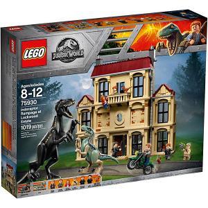 Конструктор  Jurassic World 75930: Нападение индораптора в поместье Локвуд LEGO