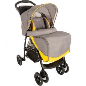 Прогулочная коляска  Mirage, цвет: yellow/grey Graco