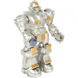 Интерактивный робот  Бласт 13 см цвет: серебряный Zhorya