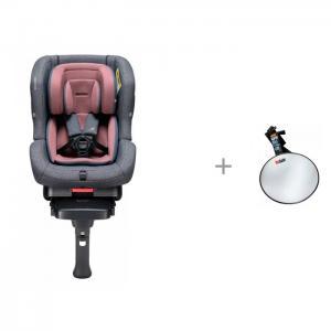 Автокресло  First 7 Plus Isofix Rosewood с зеркалом BeSafe Baby Mirror для контроля за ребенком Daiichi