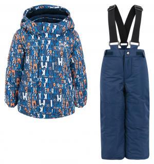 Комплект куртка/брюки  Хаббл, цвет: синий Ma-Zi-Ma by Premont