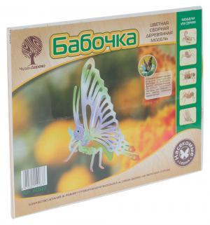 Сборная деревянная модель  Бабочка Wooden Toys