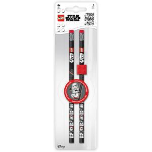 Набор карандашей Star Wars Дарт Вейдер LEGO. Цвет: черный/розовый