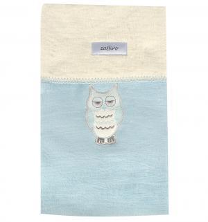 Одеяло  Owl 100 х 75 см, цвет: голубой Womar