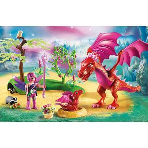 Конструктор Playmobil Дружелюбный дракон с ребенком, 20 деталей PLAYMOBIL®