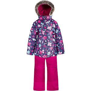 Комплект  by Gusti: куртка, полукомбинезон Zingaro. Цвет: фиолетово-розовый