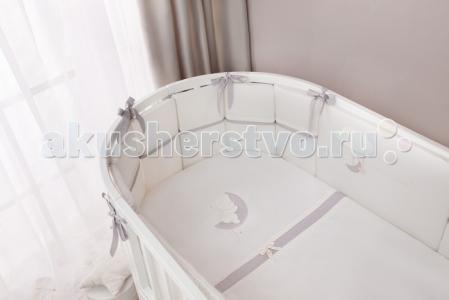 Комплект в кроватку  Bonne nuit Oval (7 предметов) Perina