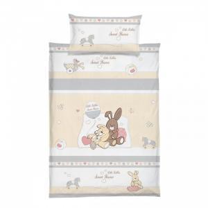 Комплект в кроватку  Милый дом 4 предмета Baby Nice (ОТК)