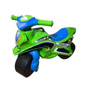 Байк  Полиция, цвет: зеленый/голубой Doloni