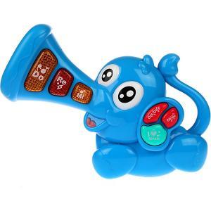 Музыкальная игрушка  Слоник Жирафики. Цвет: разноцветный