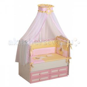 Комплект в кроватку  Пасечник (7 предметов) Селена (Сдобина)
