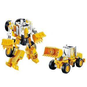 Робот и Машинка 2 в 1 Девилон Экскаватор Devik Toys