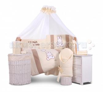 Комплект в кроватку  Rabbit (6 предметов) Tuttolina