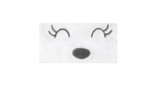 Полотенце-уголок М7 махра 120х75 Топотушки