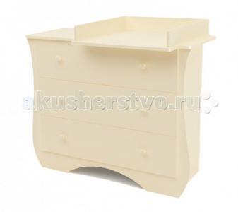 Комод  пеленальный Ilona (3 ящика) Bambu