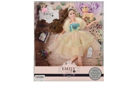 Кукла в бальном платье с аксессуарами JB0700861 Emily